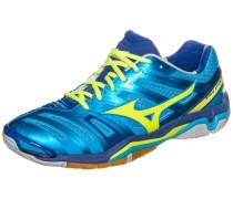 Wave Stealth 4 Handballschuh Herren blau / gelb