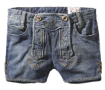 Short 'Gigi' blue denim