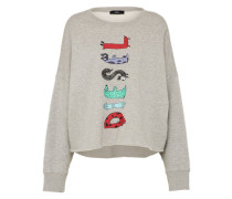 Sweater 'F-Gertrude-Short' grau