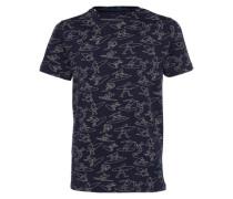 T-shirt 'LB Roundhouse Cutback' blau