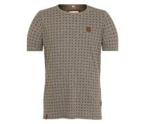 T-Shirt 'Stricherjunge' dunkelgrau