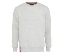Sweatshirt '3D' graumeliert
