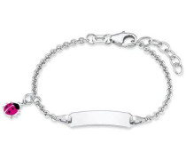 Armband 'Marienkäfer 2018083' silber