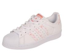Sneaker 'Superstar' koralle / weiß