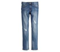 Seattle Slim: Used-Jeans blau