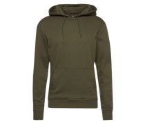 Sweatshirt 'Basic Sweat Hoody' oliv