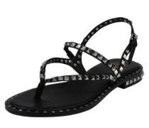 Sandalen 'peps' mit Riemchen schwarz