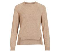 Pullover beigemeliert / braunmeliert