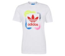 Shirt 'rectangle 1' mischfarben / weiß