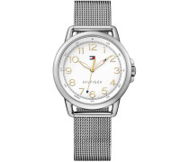 Armbanduhr »Casual Sport 1781658« silber
