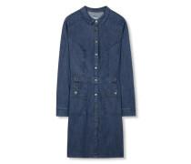 Kleid aus Denim blau