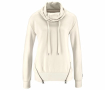 Sweatshirt wollweiß