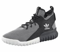 Sneaker 'Tubular X' grau / schwarz / weiß