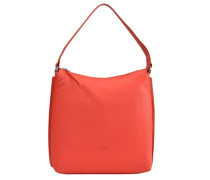 Toulouse 4 Schultertasche Leder 30 cm rot