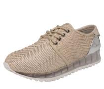 Sneaker 'Elvion' beige / silber