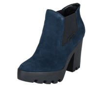 Ankle Boots 'Sandy Suede' navy