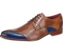 'Toni 9' Business Schuhe blau / ocker