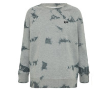 Sweatshirt 'clouded Fleece' grau