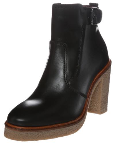 High-Heel Bootie schwarz