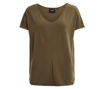 Weiches T-Shirt 'objibia Top' khaki