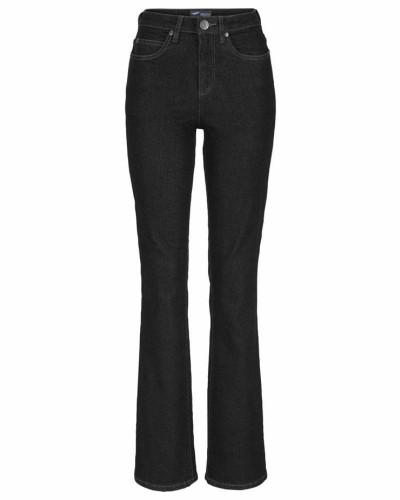 Bootcut-Jeans 'Comfort-Fit' schwarz