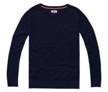 Pullover ´thdw Basic CN Sweater L/S 11´ ultramarinblau