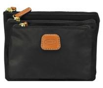 X-Bag Kosmetiktasche-Set 3tlg 19 cm schwarz
