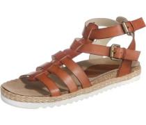 Sandaletten 'Corus' braun