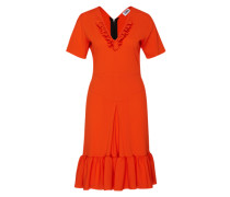 Midikleid 'robe M' orangerot