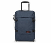 Double-Deck 2-Rollen Reisetasche 50 cm 'Authentic Collection Tranverz S 17' blue denim