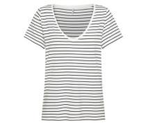 T-Shirt 'lMOJO' schwarz / weiß