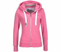 Kapuzensweatjacke »Orange Label Primary Ziphood« pink