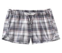 Shorts in lässiger Weite blau