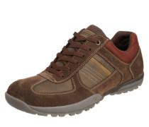Sneaker mit robuster Laufsohle braun