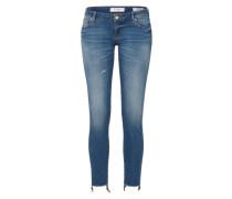 'Beverly' Skinny Jeans dunkelblau