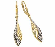 Paar Ohrhänger gold