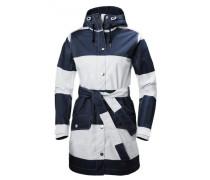 Damen Outdoorbekleidung blau / weiß