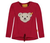 Sweatshirt mit Squeaker rot
