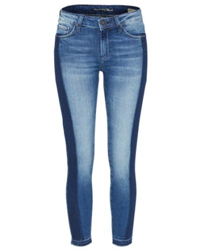 Ankle-Jeans 'Adriana' blue denim