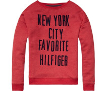 Sweatshirt »Amira BN HWK L/s« rot
