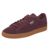 Low Sneaker 'Suede Classic Debossed' rot