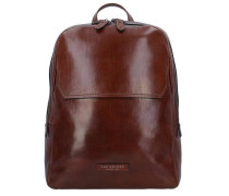Williamsburg Rucksack Leder 40 cm Laptopfach braun