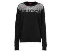 Sweatshirt 'Nicta' schwarz