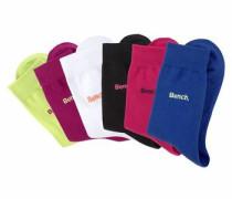 Socken ( Paar) dunkelblau / neongrün / rot / blutrot / schwarz / weiß