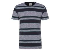 T-Shirt navy / graumeliert