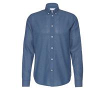 Hemd mit Button-Down-Kragen 'LiamBX 8003' himmelblau