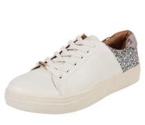 Sneaker 'sage Glitter' silber / weiß