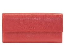 Liv 110 Geldbörse Leder 19 cm rot