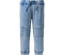 Sweatjeans Nitgert für Jungen Organic Cotton blau / hellblau
