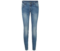 Skinny Fit Jeans 'Five' blue denim